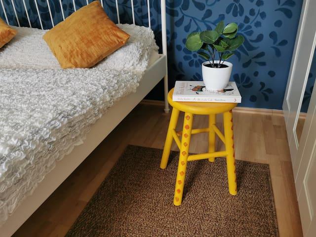 Handpainted nightstand