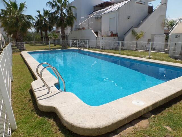 Ático a 150 metros del mar - Oliva - Appartement en résidence