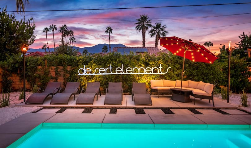 """Desert Elements"" Resort-Home W/Pool, Spa, Firepit"