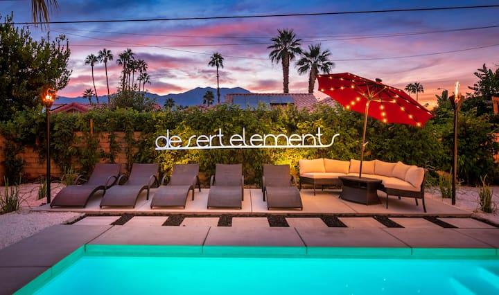 """Desert Elements"" Resort-Home W/Pool, Spa, Firepit"
