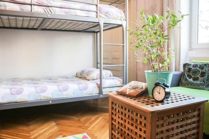 6 Bed Mixed Dorm at Podstel Bucharest