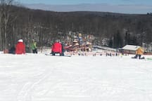 If your new to skiing/snowboarding the beginners area is a great place to start