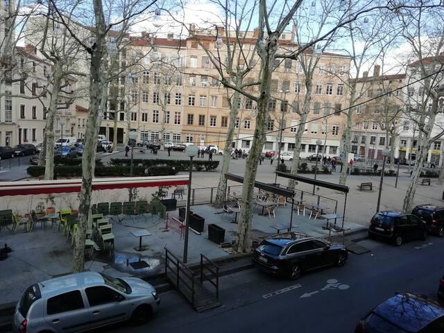Bel appartement à  la Croix-Rousse.