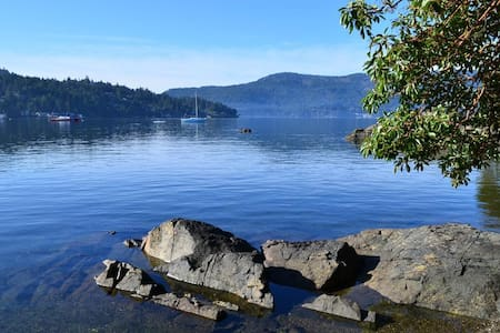 Steps to Ocean-Private suite in Brentwood Bay - Brentwood Bay - Rumah