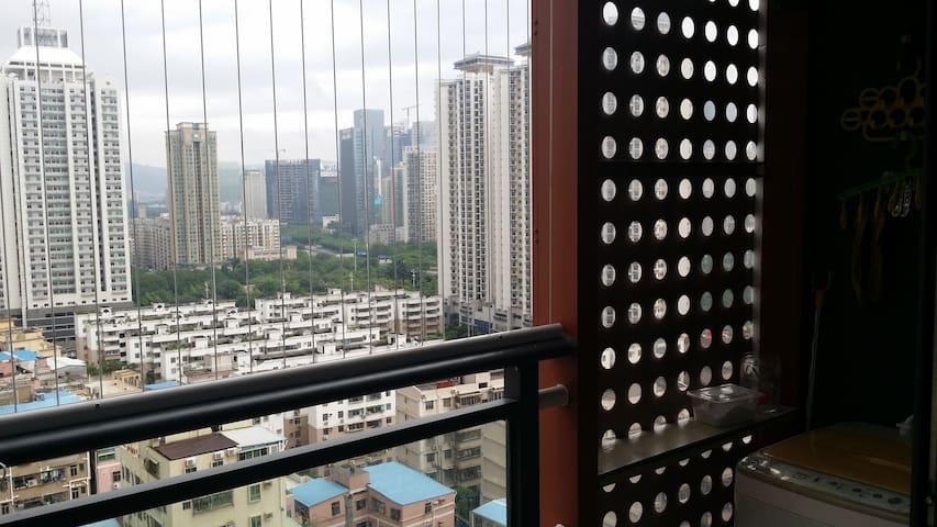 福田中心区嘉葆润金座,复式前卫LOFT,步行3分钟到地铁3号线石厦站 - Shenzhen Shi - Apartamento