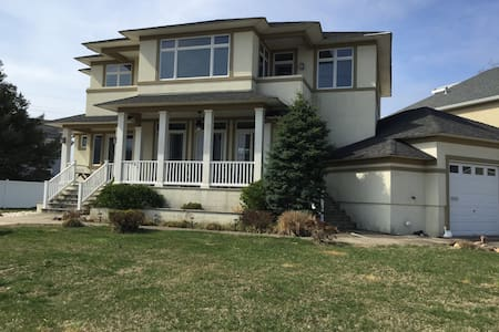 Great home 300 yrds fr Private Beach - Point Pleasant Beach - 独立屋