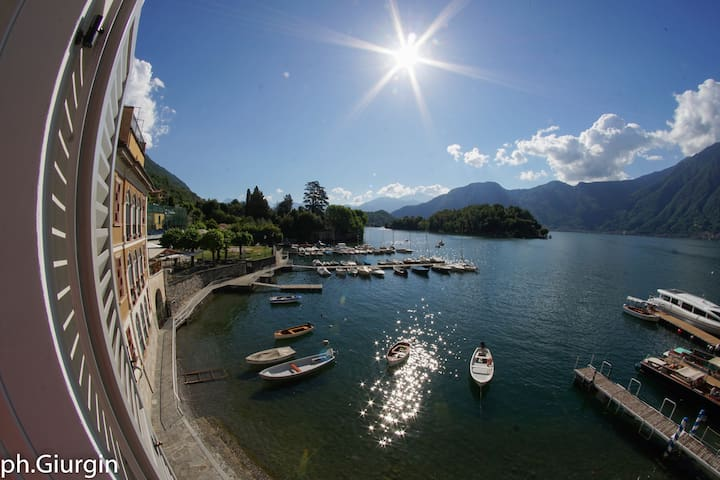 Family Haven, charm & great view of Lake Como-a.c.