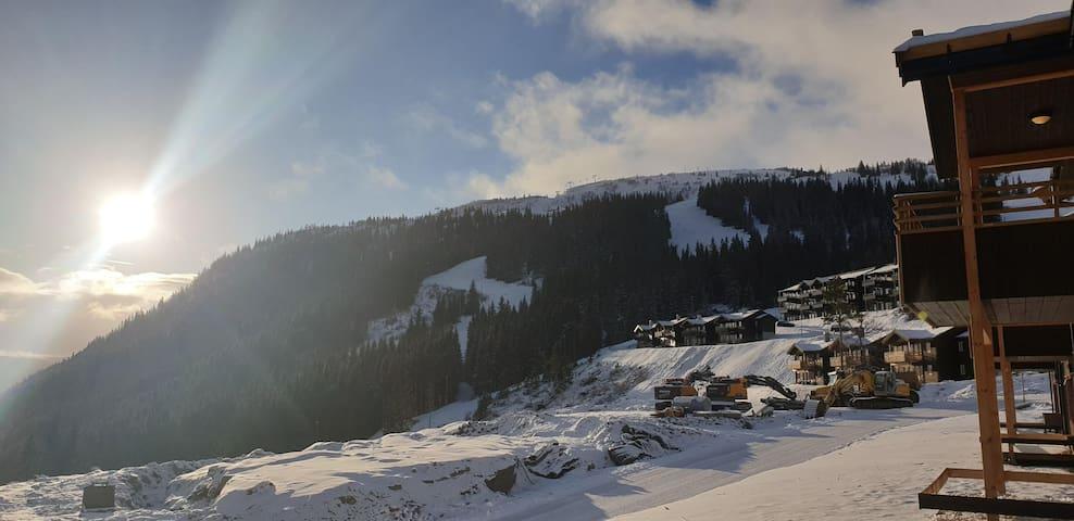Leilighet til leie Voss/Tråstølen med Ski in-out