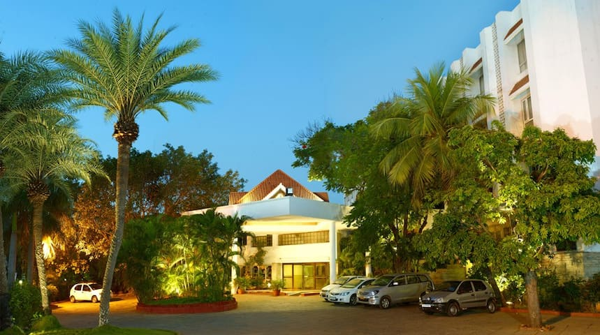 Polished hotel surrounded by garden Stay,Trichy