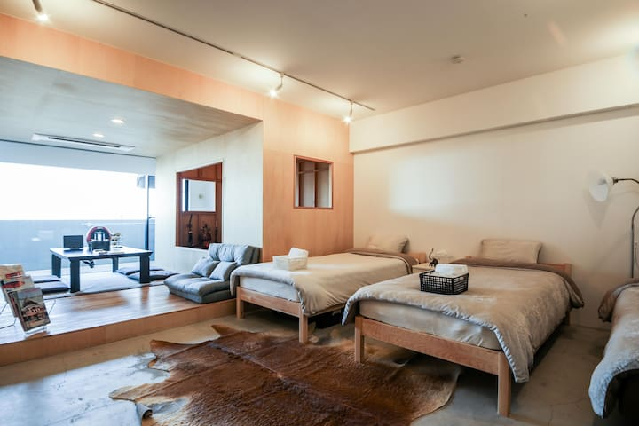 7guests SHINJUKU 2 Separate rooms(5th & 1st floor) - Nakano-ku - Appartamento