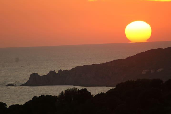 Vue imprenable golf de Sagone - Coucher soleil - Coggia