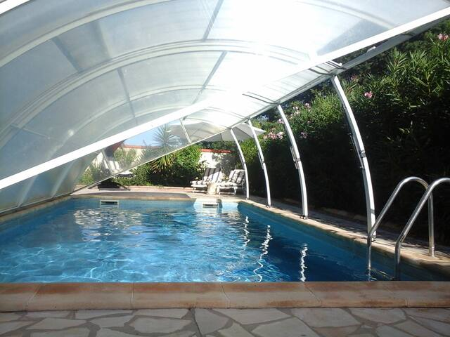 Piscine,jardin,terrasse,Wifi,Climatisation