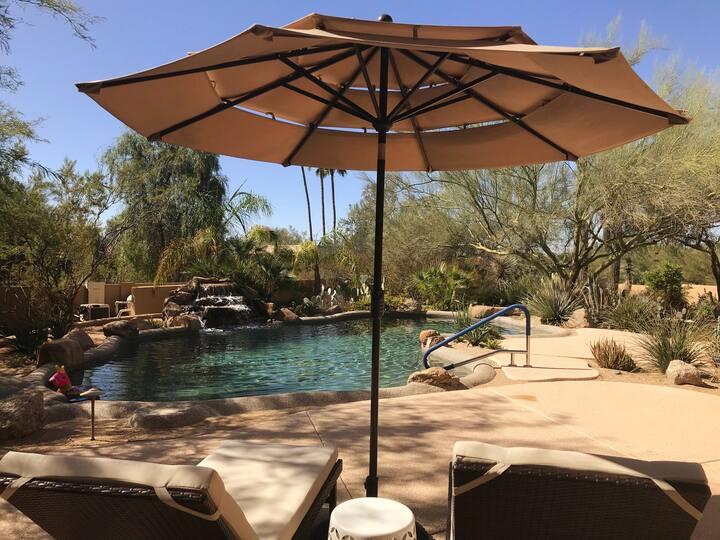 Desert Paradise Garden Retreat in North Scottsdale