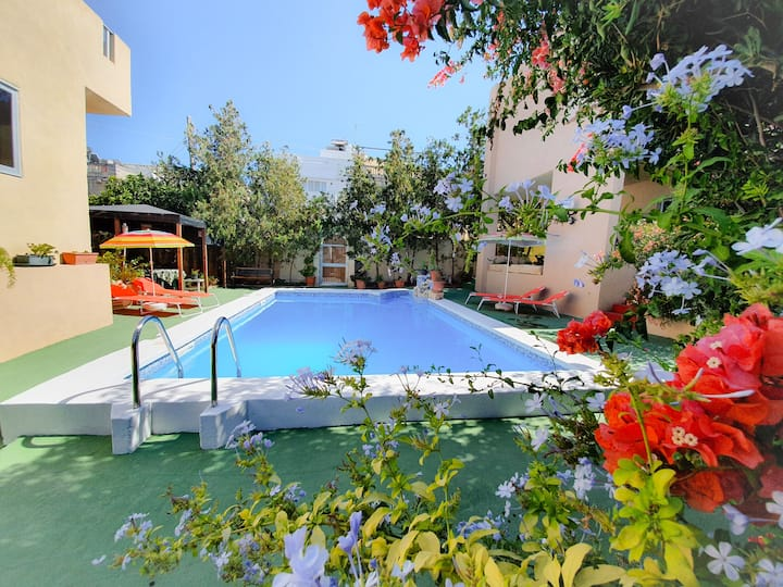 St Julians Apartment-Very Bright With Use of Pool
