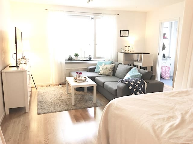 Cozy apartm near Stockholm City - Sundbyberg - Appartement