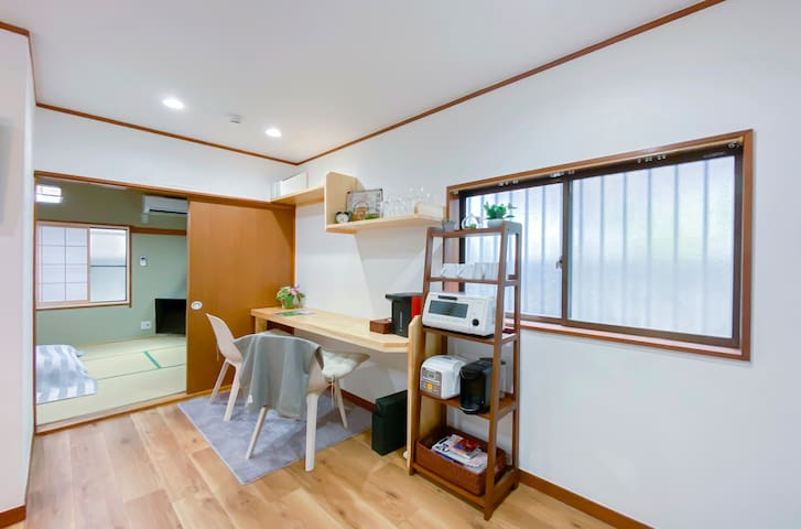 ☆Shinjyuku area☆Cozy style☆ traditional apartment☆