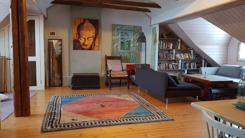 Bohemian Loft in Empire centre of Porvoo