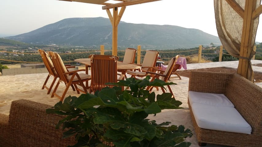 Holiday Villa Endless View-Feriza near  Anavyssos