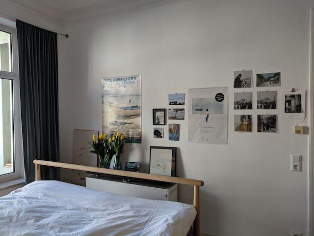 2-Zimmer Altbaucharme in Eimsbüttel