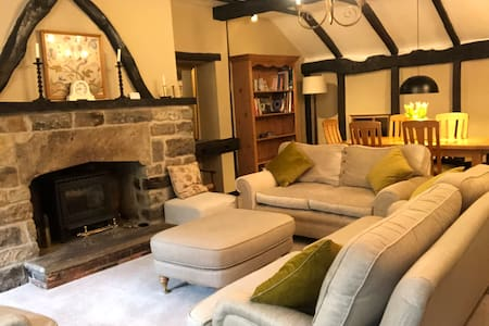 Cosy, comfortable and characterful cottage.