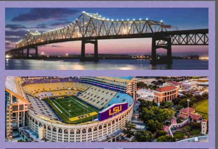 Gorgeous Townhouse 2 miles from Tiger Stadium LSU
