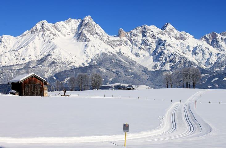 3) Salzburg Alps/Ski forthe season (1/2 pax)