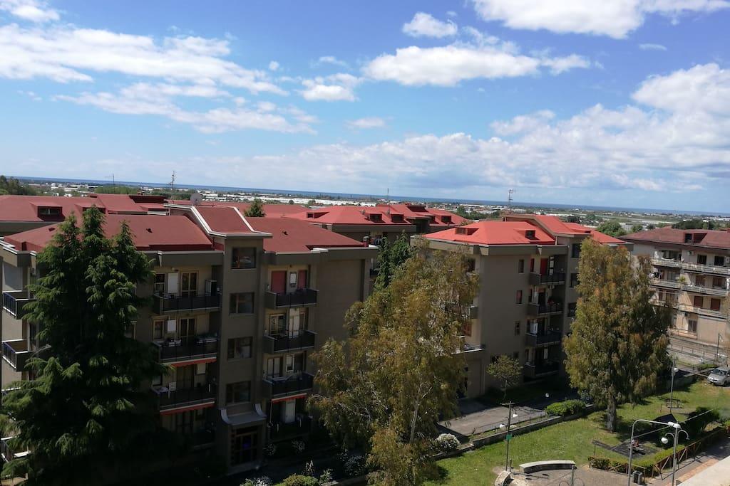 View (west - Amalfi Coast)