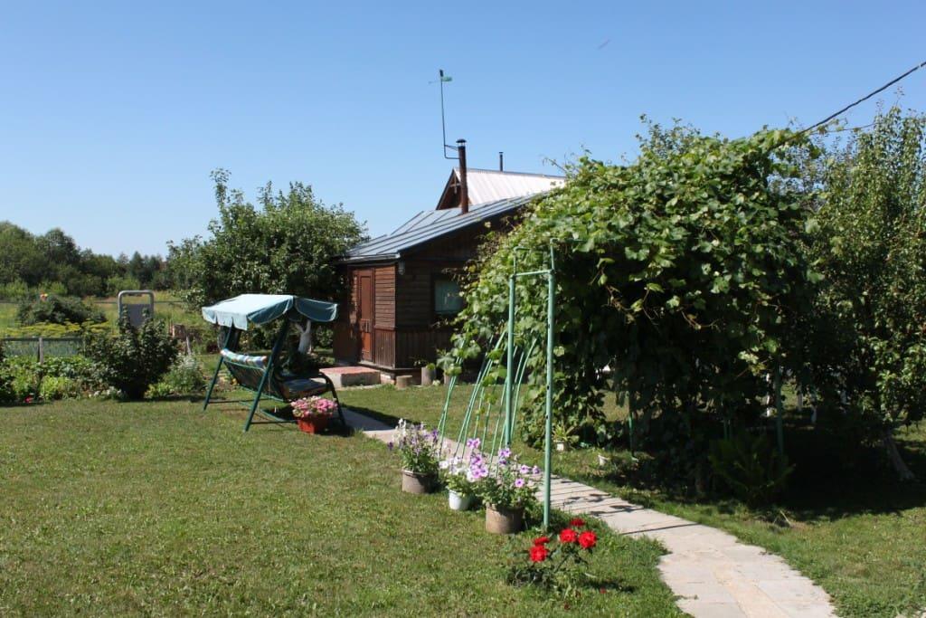 сад и русская баня