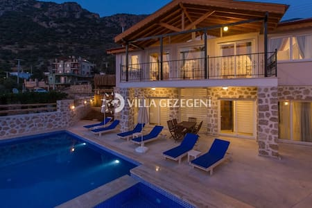 4 Bedrooms,Spacious living room, perfect sea view - Kaş