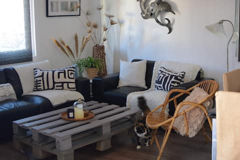 Flat for rent in Rhodes, in Paradissi village.