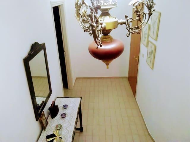 Είσοδος στον οροφο