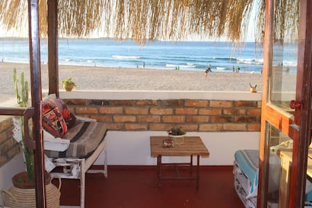 Boho Style Beach Apartment - First Floor - Tofo Beach
