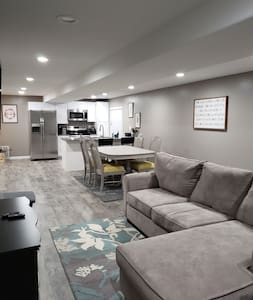 Comfy and cozy private basement