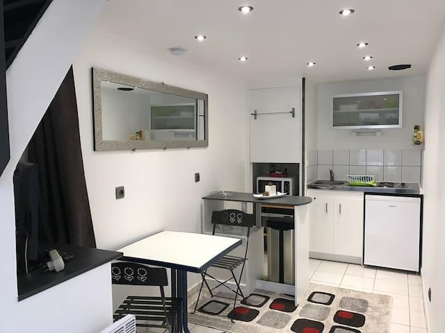 Studio Duplex Angers Meublé cour Terasse - Angers - Wohnung