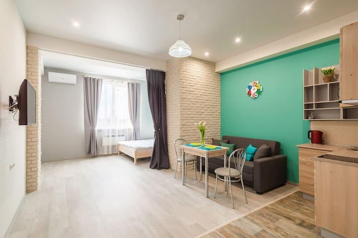 Стильная и уютная квартира в центре Адлера. - Bolshoy Sochi - Apartmen