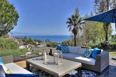 Sweeping, Spectacular Ocean View! Minutes to Beach - Summerland