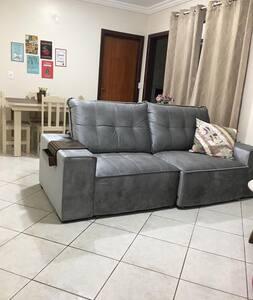 Apartamento para até 3 pessoas.