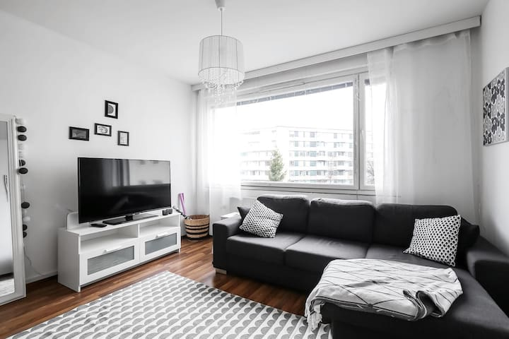 Lovely  and cute apt in the heart of the city