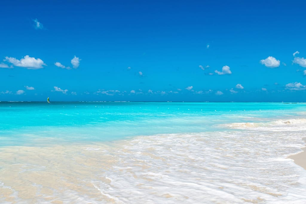 Beautiful Grace Bay Beach - one of the best in the world!