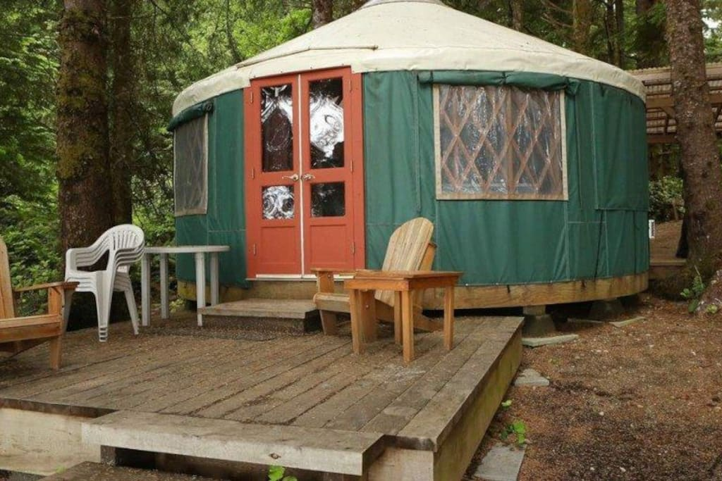 These yurts provide for the ultimate camping experience