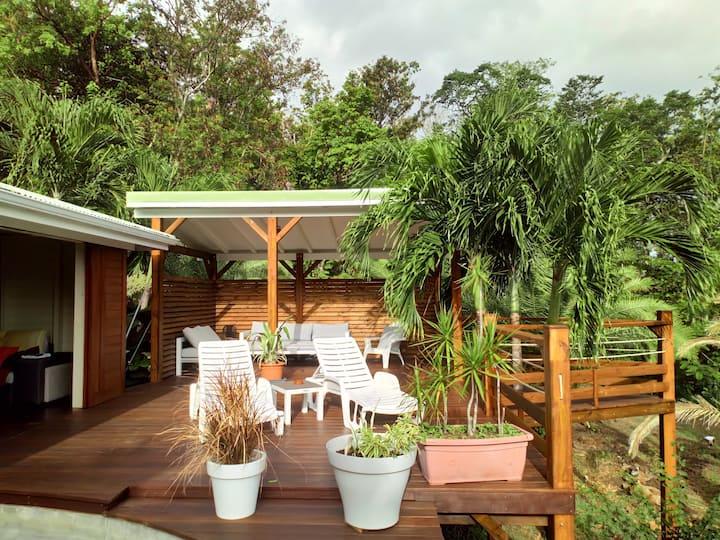 Villa Manuréva avec piscine