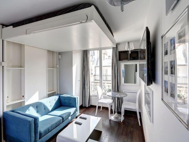 Mon studio à Bastille rénové par architecte
