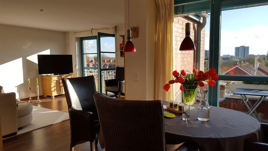 Ostsee schönes Wohn-Ambiente & Tiefgarage & Aufzug - คิล - อพาร์ทเมนท์