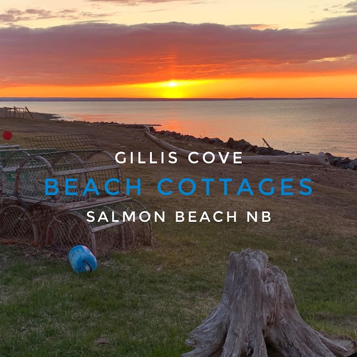 Gillis Cove Beach Cottages - Salmon Beach NB