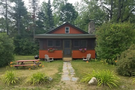 Orange 2 Bedroom Adirondack Cabin - Johnsburg