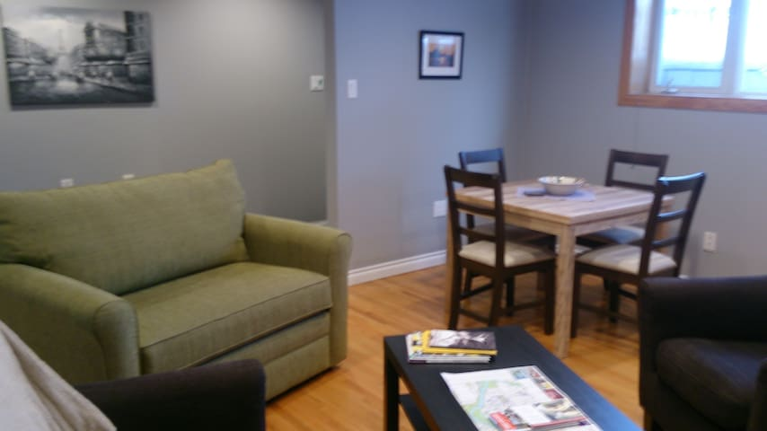 Spacious 2Bd basement suite with large windows - Calgary - Apartemen