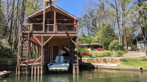 Humble Cabin on Lake Summit