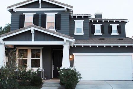 Designer modern family friendly LA burbs home