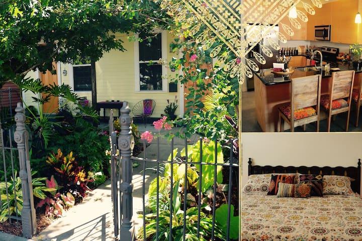 Classic NOLA Jewel-Box in Best Bohemian Location! - New Orleans - Hus