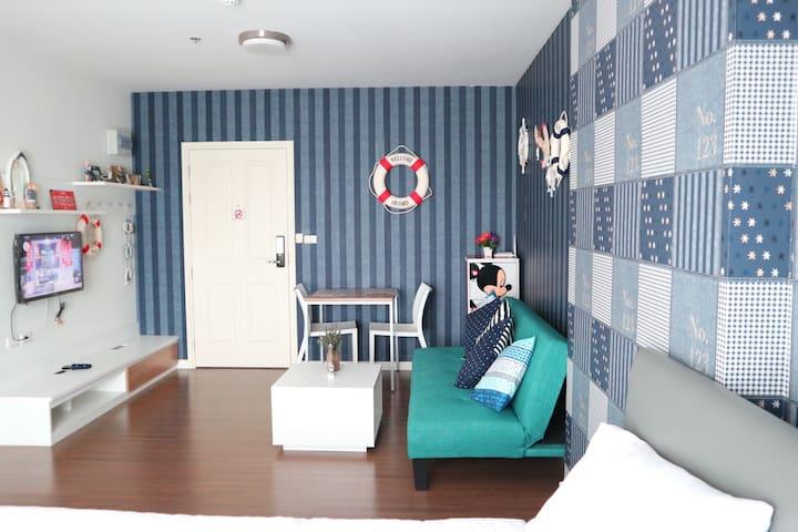 Baan kiang Fah Hua Hin F18 - ตำบล หัวหิน - Apartamento